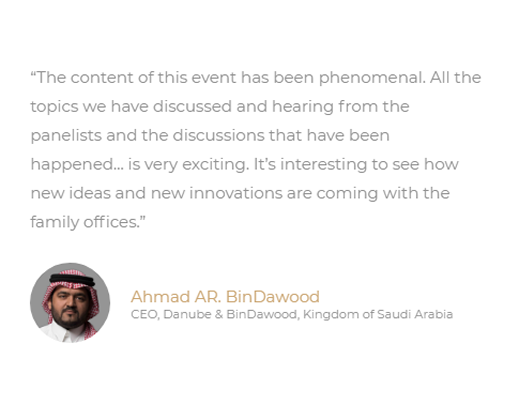 Middle East Family Office Summit Testimonial 9.fw